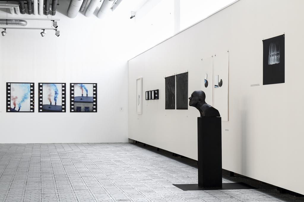 pohled do expozice doprovodné výstavy Marian Mudroch: Talent intuície