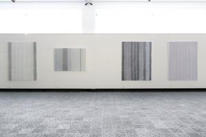 pohled do expozice doprovodné výstavy Jitka Svobodová: 4 a půl cyklu (2010-2017)