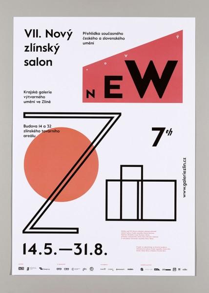 VII. Zlínský salon plakát