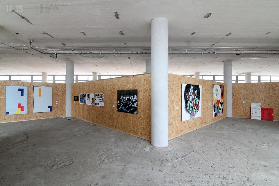 VII.NZS, Zlín, 32. budova, pohled do expozice