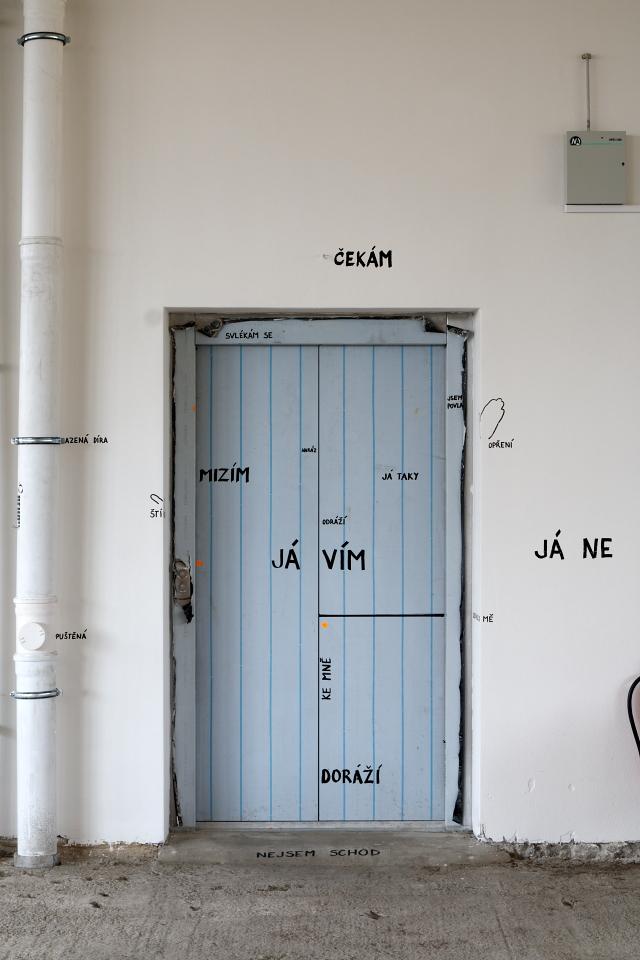 VII.NZS, Zlín, 14. budova, pohled do expozice